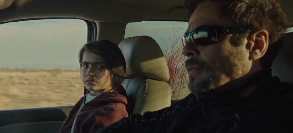 Sicario Soldado Benicio del Toro Isabela Moner