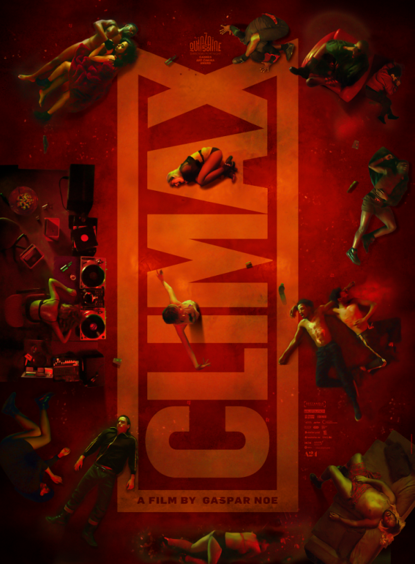 Climax movie Gaspar Noe A24 poster