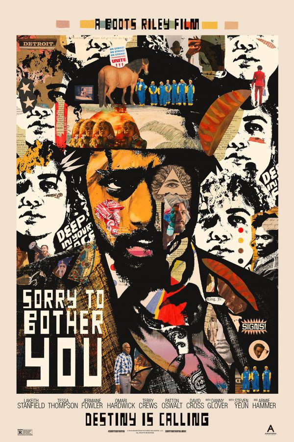 Sorry to Bother You poster Midnight Marauder