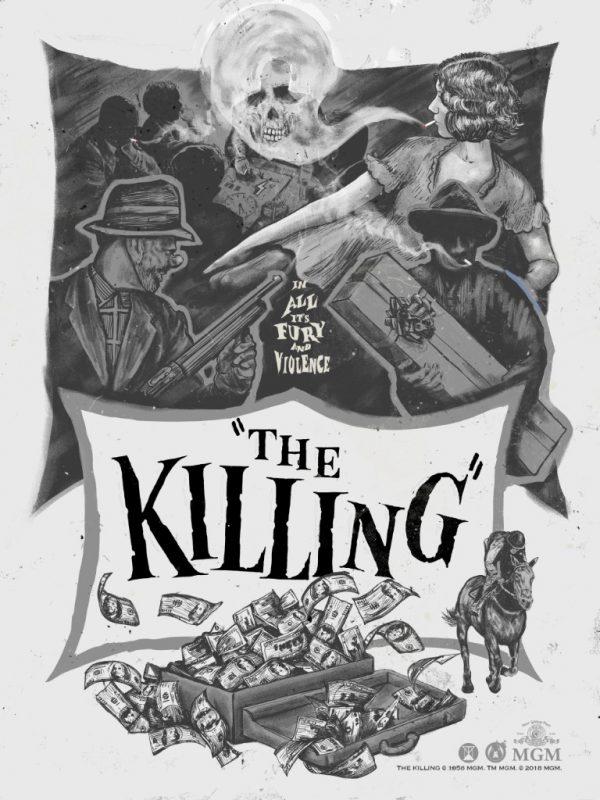 The Killing Zeb Love noir variant