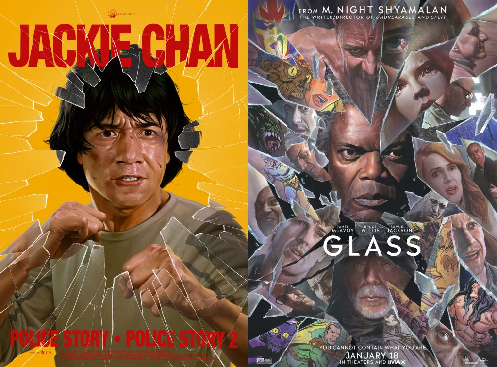 Police Story Glass poster
