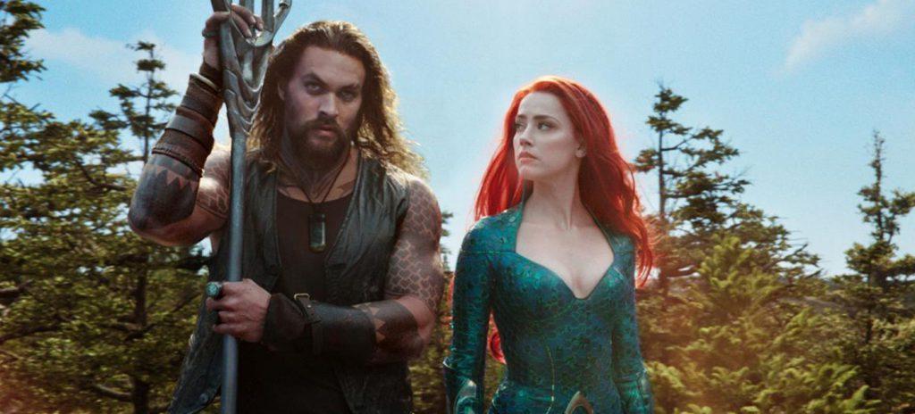 Aquaman movie review Jason Momoa Amber Heard