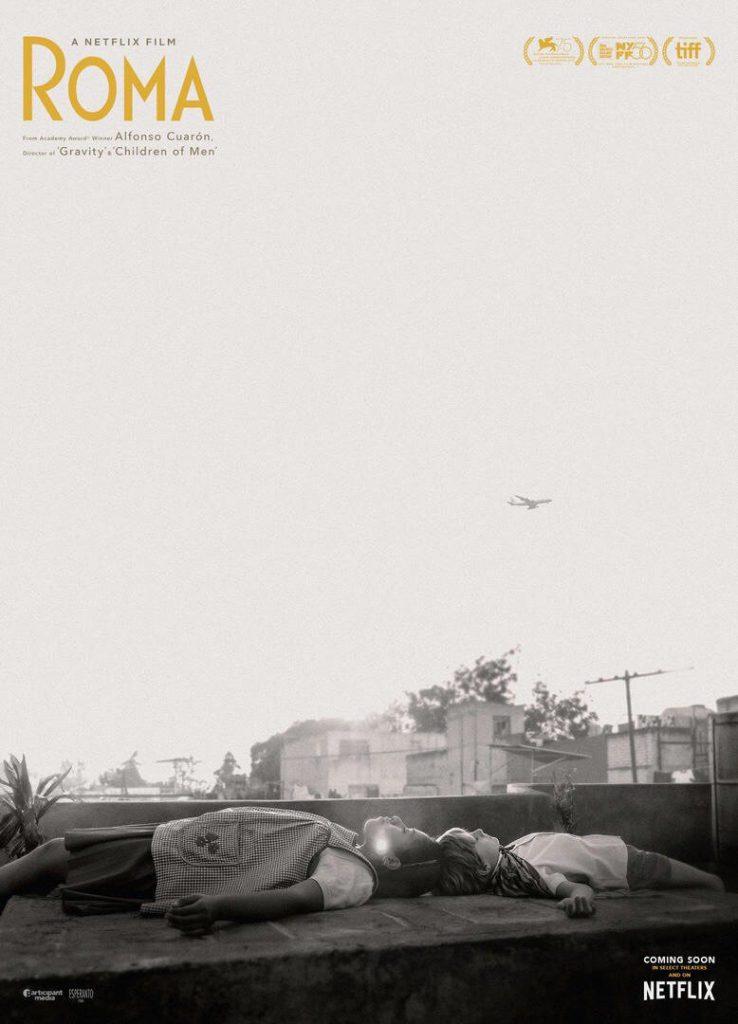 Roma movie poster Netflix Cuaron