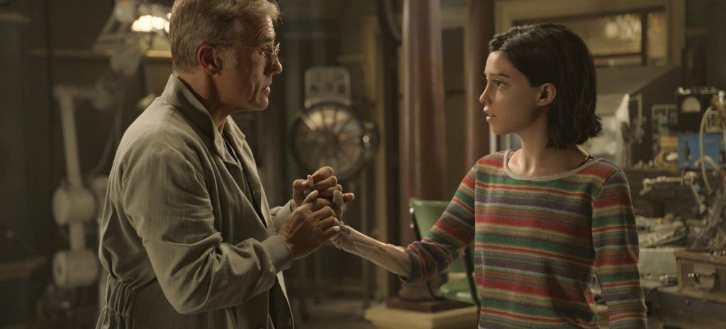 Alita Battle Angel review Rosa Salazar Christoph Waltz