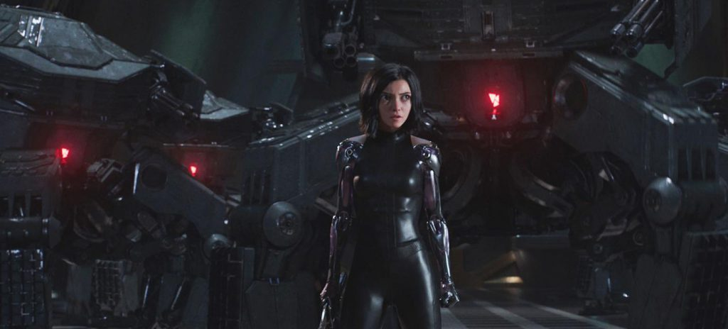 Alita Battle Angel review Rosa Salazar still