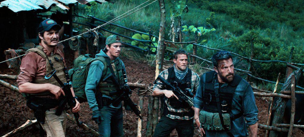 Triple Frontier review Ben Affleck Garrett Hedlund Charlie Hunnam