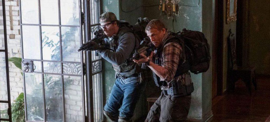 Triple Frontier review Garrett Hedlund Charlie Hunnam