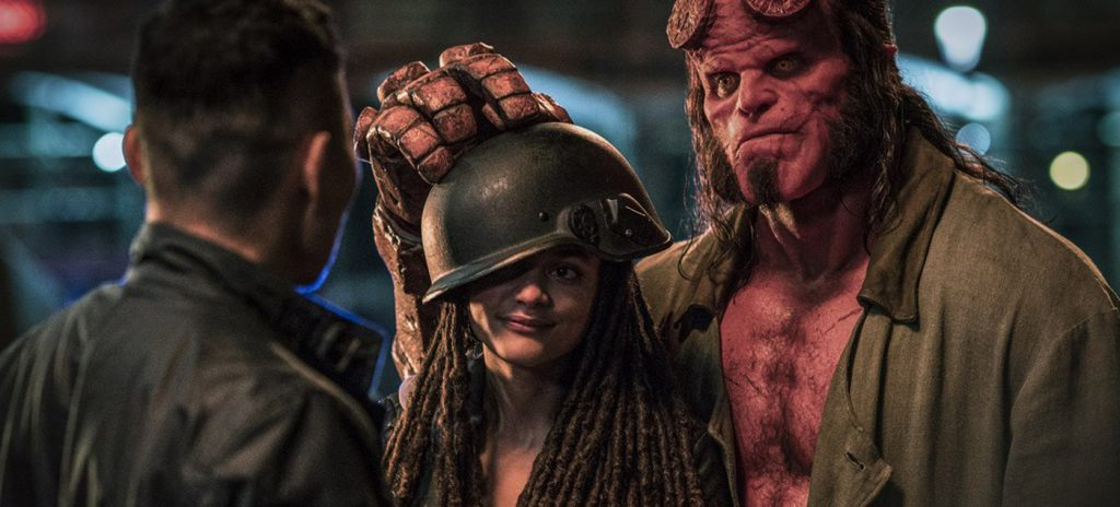 Hellboy review David Harbour Daniel Dae Kim Sasha Lane