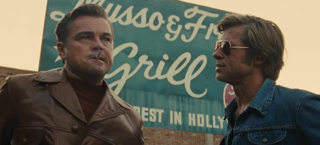 Once Upon a Time in Hollywood Brad Pitt Leonardo DiCaprio review