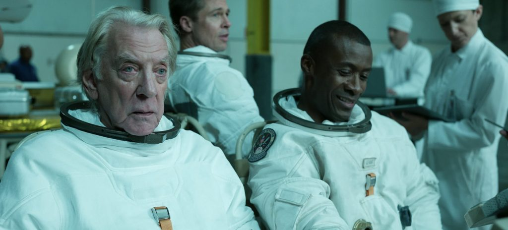 Ad Astra review Brad Pitt Donald Sutherland