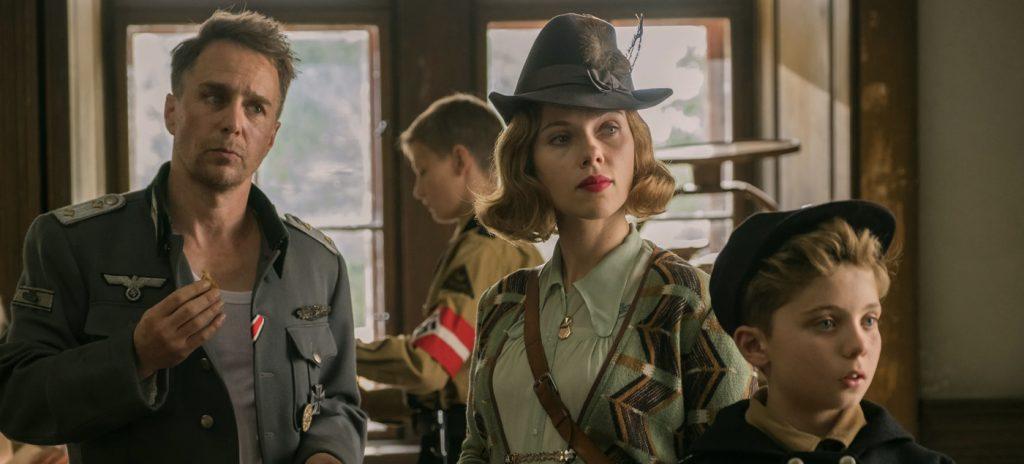 Jojo Rabbit review Scarlett Johansson Sam Rockwell review