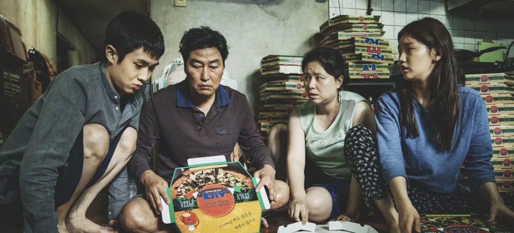 Parasite review Song Kang-ho Jang Hye-jin Choi Woo-shik Park So-dam