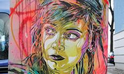Intricate Stencil Art By C215